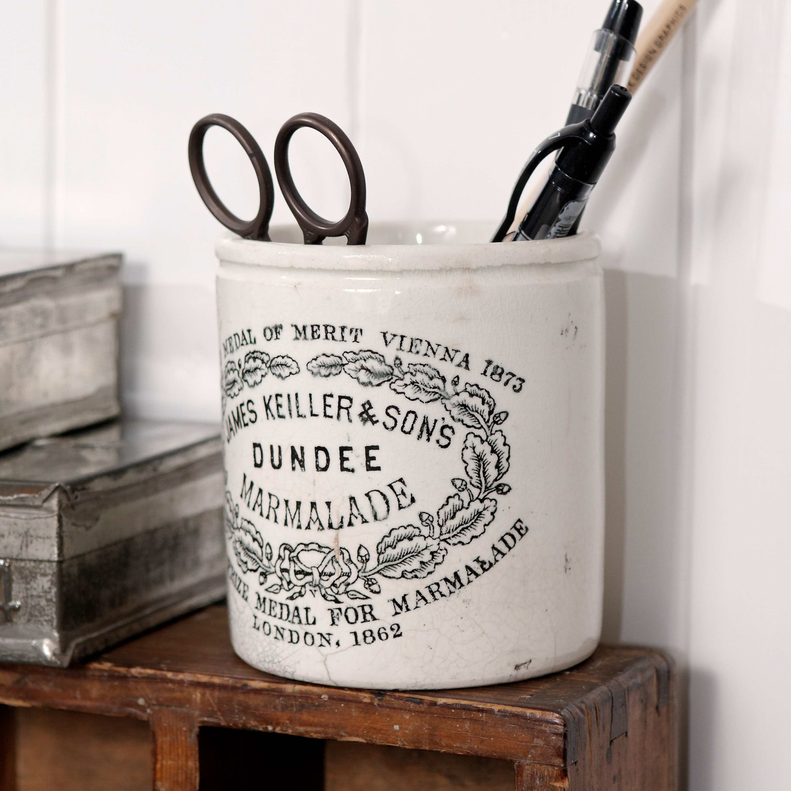 Jam Pot Small Marmalade | Brixton Pottery |Marmalade Pot